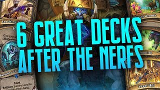 6 Amazing Decks to Use After the Nerfs | Rastakhan