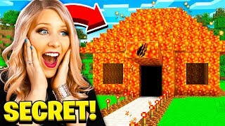 I Found PrestonPlayz Secret Lava Minecraft House! Video
