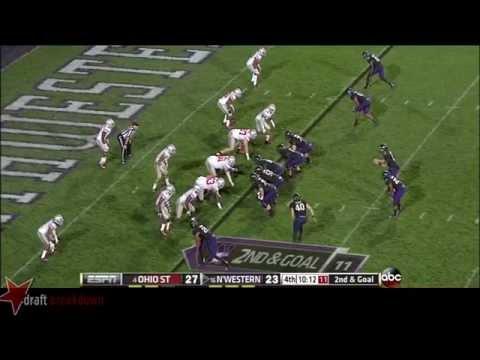 #1 Bradley Roby, CB, Ohio State vs Northwestern