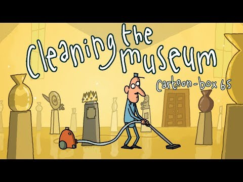 Cleaning The Museum   Cartoon-Box 65
