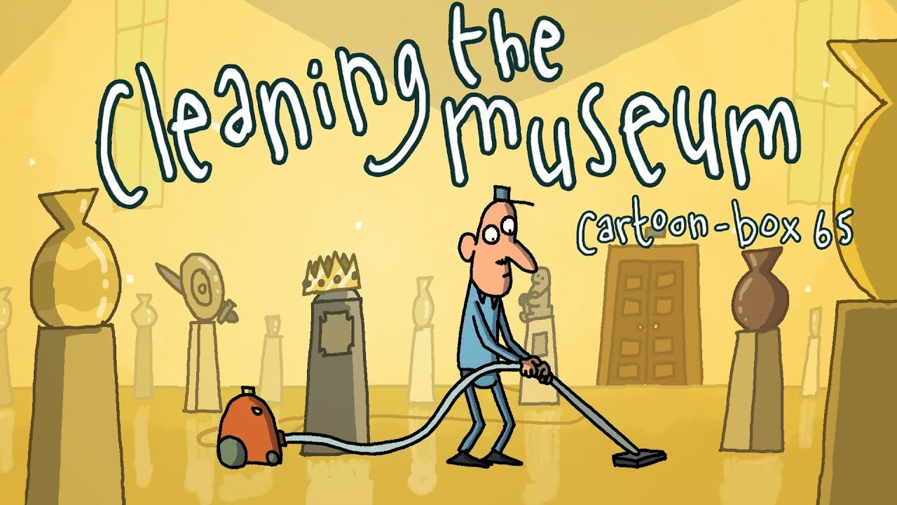 cartoon pictures of cleaning