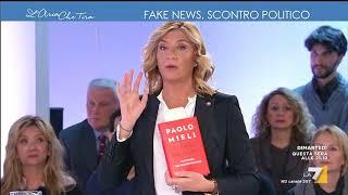 L'aria che tira - Renzi e Berlusconi, sfida a distanza (Puntata 28/11/2017)