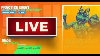 FORTNITE - SCAVENGER POP UP CUP DUOS WITH RANDOM SUBS