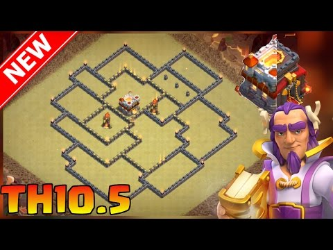 Clash of Clans   New Town Hall 10.5 War Base (All Variations) - Th10.5/Th11 War Base Anti-1 & 3 Star