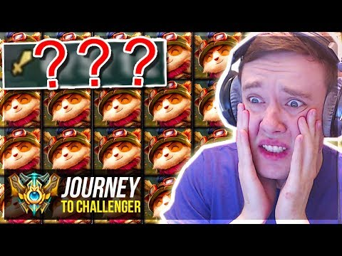 WHY AM I PLAYING TEEMO THIS GAME - Journey To Challenger | League of Legends