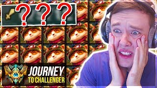 WHY AM I PLAYING TEEMO THIS GAME????????????????? - Journey To Challenger | League of Legends