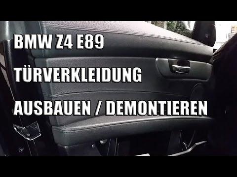 Bmw Z4 T 252 Rverkleidung Ausbauen Z4 T 252 Rverkleidung