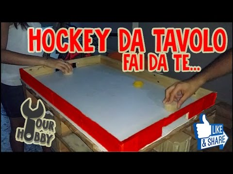 Diy hockey da tavolo fai da te youtube for Fai da te youtube
