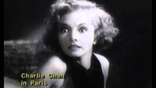 Charlie Chan In Paris Trailer 1935