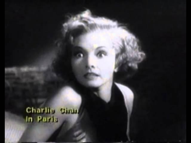 Charlie Chan In Paris Trailer 1935