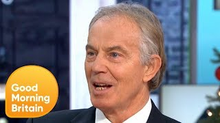 Tony Blair Calls for a Second Brexit Referendum | Good Morning Britain