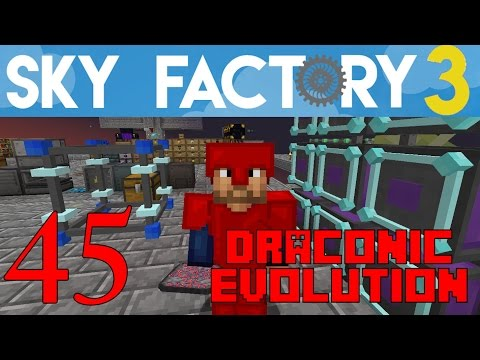 Ep 45 / Draconic Evolution – Fusion Crafting – Part 2 / Sky Factory 3.0 / FTB / Minecraft / Tutorial