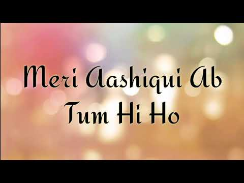tum-he-ho-karaoke-with-lyrics