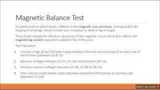 explained transformer testing practical aspects