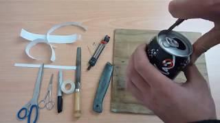 Comment fabriquer un réchaud de 10 grammes (P3RS) avec une canette