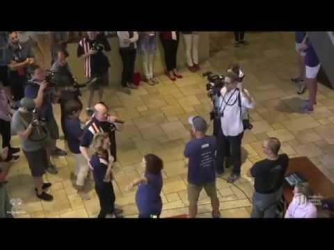 Jeffrey Dean Morgan & Hilarie Burton - Big Slick 2016