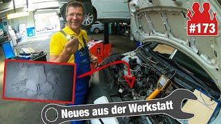 Mit dem Endoskop im AGR-Ventil - wie verkokt ist es? | Ölverlust im VW Passat - Ventildeckel krumm?