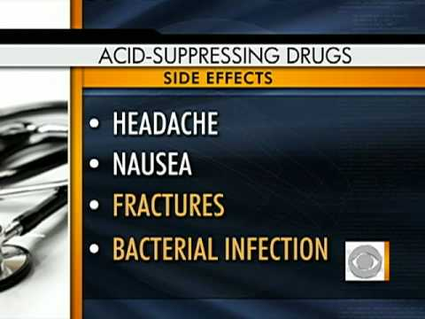 Acid Reflux Drug Side-Effects