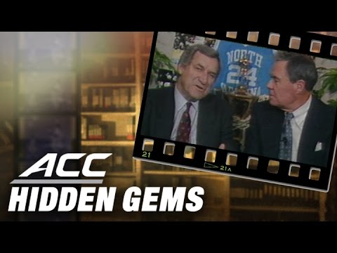 Dean Smith Breaks Down UNC vs. Duke - Jan. 18, 1989