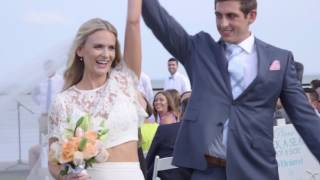 Abby + Justin | Sunsets and Double Rainbows | Milford Yacht Club | Short Preview