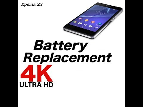 Xperia Z2 battery replacement