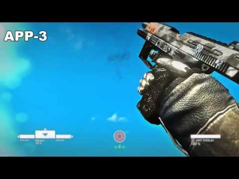 Syndicate 2012 All Weapons In Slow Motion [ 60 FPS, FULL HD, MAX DETAILS ]