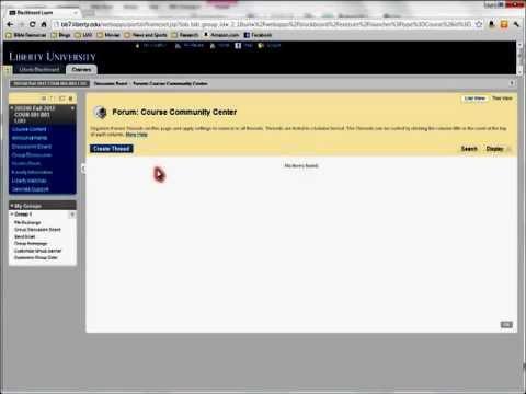Posting in APA Format