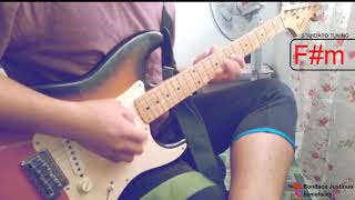 Original Sabahan (Guitar Solo Cover) Atmosfera ft. Floor 88 - By Bonie