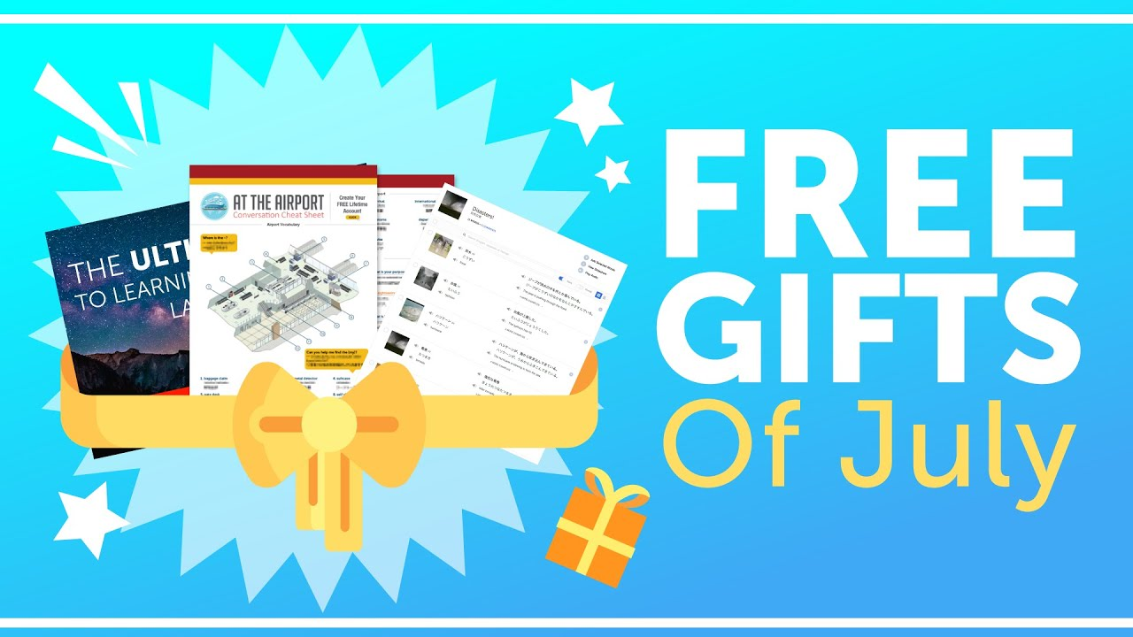 FREE Swahili Gifts of July 2018