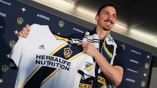 Zlatan Ibrahimovic fulfils 'destiny' as he is unveiled at LA Galaxy