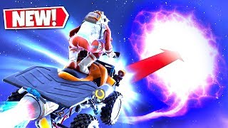 *NEW* FLYING THROUGH THE *SKY PORTAL* USING A QUAD CRUSHER! CUBE FINAL STAGE UPDATE!: BR