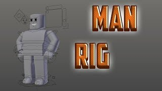 Roblox Man Rig || Blender