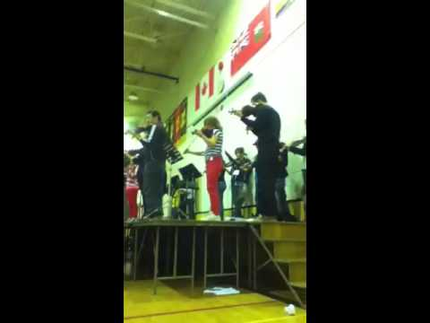 Me in Lynn Lake playing Tear Drop Waltz