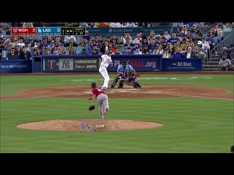 Corey Seager Go-Ahead Sac Fly Vs Nationals | Dodgers Vs Nationals