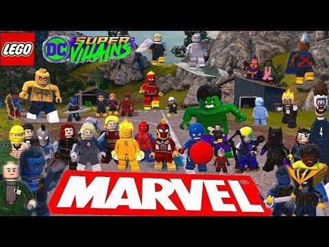 Marvel (X-MEN) characters in LEGO DC Super villains (PART 3) |