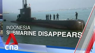 Indonesian navy searching for missing submarine with 53 on board