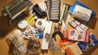 МОИ ПОКУПКИ ДЛЯ ТВОРЧЕСТВА: полимерная глина, инструменты и не только...(Сегодня я наконец покажу все покупки для творчества, которые я покупала с разных сайтов и ждала с нетерпени..., 2013-08-29T12:03:13.000Z)
