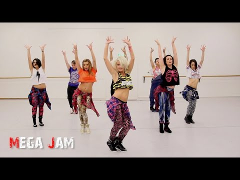 'Sissy That Walk' @Rupaul choreography by Jasmine Meakin (Mega Jam)