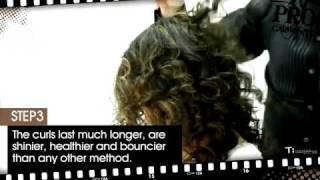 Къдрене на коса с преса - Step by step Video
