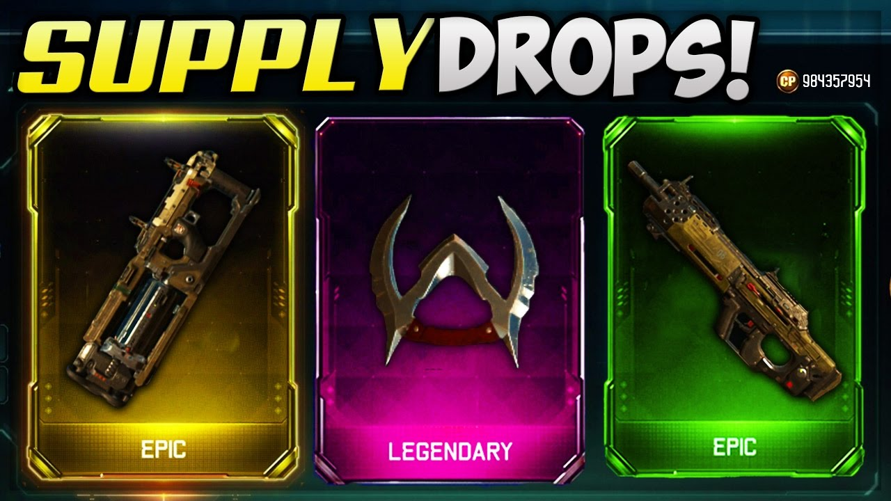 new dlc weapons black ops 3 supply drop opening new bo3 guns