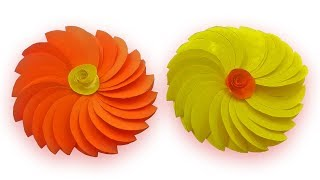 How to make a patal Paper Flower   Easy origami folded patal for beginners making   Mr.Paper Crafts