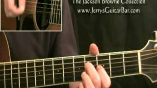 How To Play Jackson Browne Call It a Loan Acoustic (Intro Only)