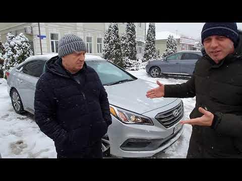 Hyundai Sonata из Грузии в Украину за 7 дней #Авторакета