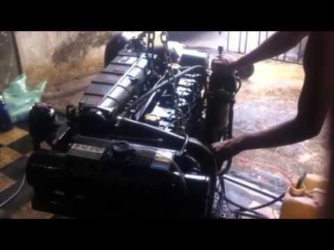 Motor VM 4.2 Diesel funcionando livre
