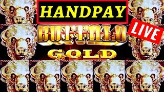 Buffalo Gold Slot Machine LIVE HANDPAY JACKPOT! Rising Fortunes Slot Machine Max Bet MASSIVE WIN