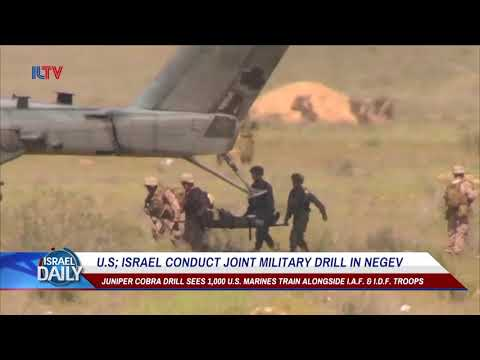 US-Israel Hold Joint Military Drill In Israel's Desert - Mar. 14, 2018