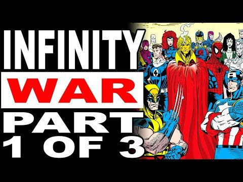 The Magus Brings War To The Avengers! (Marvel's Infinity War Part 1 of 3)