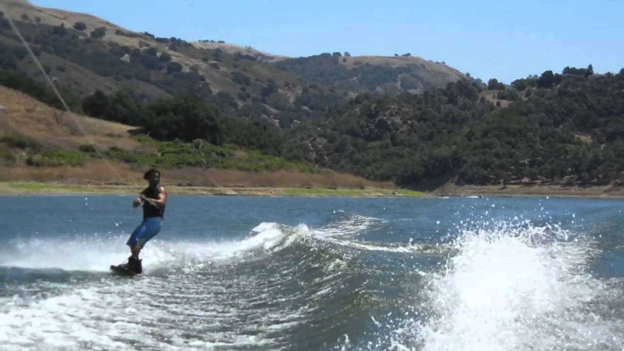 Derek Cook Wakeboarding At Anderson Lake Morgan Hill