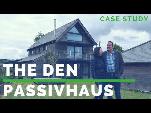 Building 'The Den' Passivhaus - case study