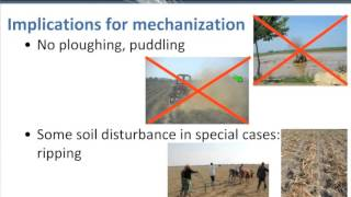 Conservation Agriculture and mechanization 'Suitable Machinery', a climate-smart approach 1